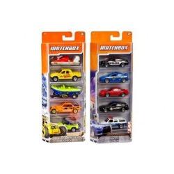 MATCHBOX 5 CARS WINDOW PACK