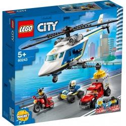 LEGO 60243 TAKAA-AJO POLIISIHELIKOPTERIL