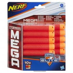 NERF MEGA DART REFILL 10 PACK