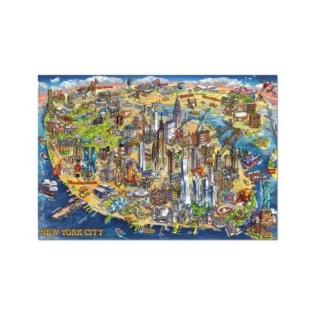 New york kartta