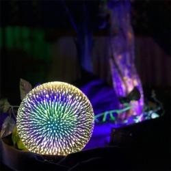3D LASINEN LED LAMPPU